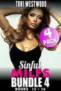 Sinful MILFs Bundle 4 – Books 13 - 16