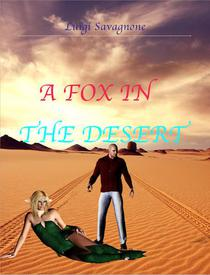 A fox in the desert