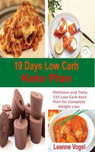 19 Days Low Carb Keto Plan
