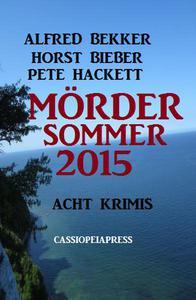 Acht Krimis - Mördersommer 2015