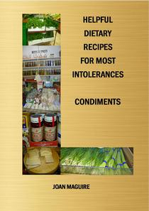 Helpful Dietary Recipes For Most Intolerances Condiments