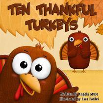 Ten Thankful Turkeys