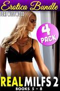 Real Milfs 2 : 4 Pack Erotica Bundle - Books 5-8
