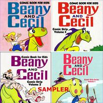 Comic Book for Kids: Beany and Cecil Sampler