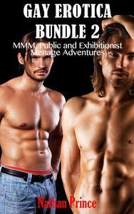 Gay Erotica Bundle 2: MMM, Public and Exhibitionist Ménage Adventures