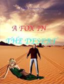 A fox in the desert