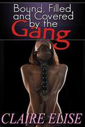 Bound, Filled, and Covered by the Gang (motorcycle club biker gang erotica)