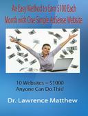 An Easy Method to Earn $100 Each Month with One Simple AdSense Website  10 Websites = $1000 - Anyone Can Do This!
