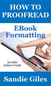 How to Proofread: EBook Formatting