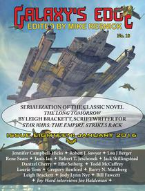 Galaxy's Edge Magazine: Issue 18, January 2016 - Featuring Leigh Bracket (scriptwriter for Star Wars: The Empire Strikes Back)