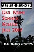 Der Krimi Sommer Koffer Juli 2017 - 1622 Seiten Spannung
