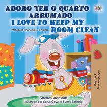 Adoro Ter o Quarto Arrumado I Love to Keep My Room Clean