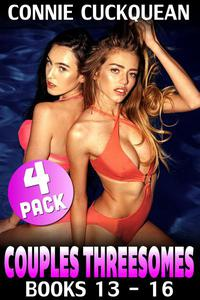 Couples Threesomes 4-Pack : Books 13 - 16