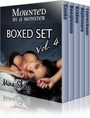 Mounted by a Monster: Boxed Set Volume 4