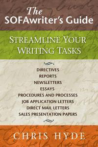 The SOFAwriter's Guide: Streamline Your Writing Tasks