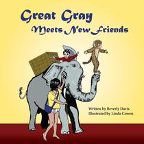 Great Gray Meets New Friends