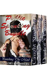 Public Spanking Bundle (3 Bondage Humiliation Stories)
