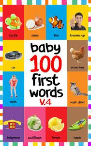 Baby 100 First Words V.4
