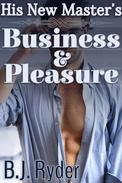 His New Master's Business and Pleasure (Gay BDSM Erotica)