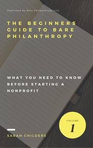 The Beginners Guide To Bare Philanthropy