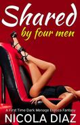 Shared by Four Men - A First Time Dark Menage Erotica Fantasy