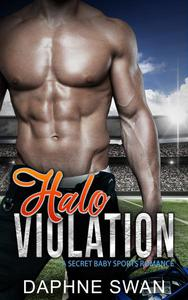 Halo Violation: A Secret Baby Sports Romance