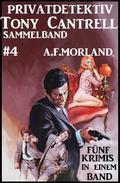 Privatdetektiv Tony Cantrell Sammelband #4 - Fünf Krimis in einem Band