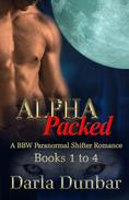 Alpha Packed BBW Paranormal Shifter Romance Series - Books 1 to 4