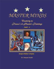 Master Minds:Creativity in Picasso's & Husain's Paintings. Part 3