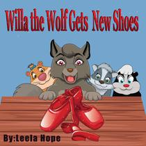 Willa the Wolf Gets New Shoes