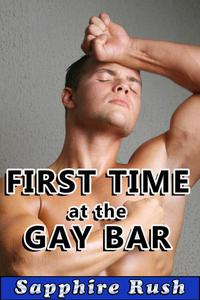 First Time at the Gay Bar (gay virgin anal)