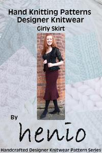 Girly Skirt Hand Knittting Pattern
