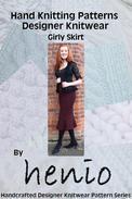 Girly Skirt Hand Knittting Pattern