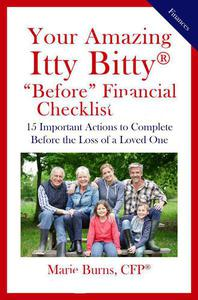 """Your Amazing Itty Bitty® """"Before"""" Financial Checklist:"""
