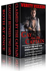 Gay For The Captain: Lust On The High Seas Bundle (Books 1,2 &3)