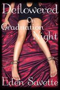 Deflowered on Graduation Night (BBW, Deflowering, New Adult)