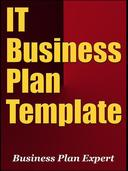 IT Business Plan Template (Including 6 Special Bonuses)