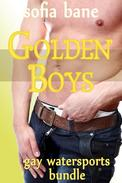 Golden Boys: Gay Watersports Bundle