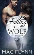 Falling For A Wolf #4 (BBW Werewolf Romance)