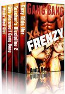 Gang Bang Frenzy! (Gang Bang Erotica Box Set x4)