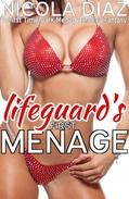 Lifeguard's First Menage  - A First Time Dark Menage Erotica Fantasy