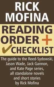 Rick Mofina Reading Order and Checklist