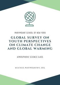 Global Survey on Youth Perspectives on  Climate Change and Global Warming