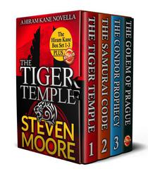 The Hiram Kane Adventures Box Set 1-3: The Tiger Temple, The Samurai Code & The Condor Prophecy (plus a bonus copy of The Golem of Prague)