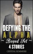 Defying The Alpha (Gay Werewolf Romance 4-Pack Boxed Set)