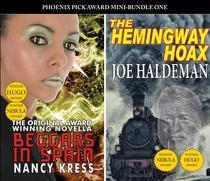 PP Award Winners - Mini Bundle 1 - The Hemingway Hoax (Joe Haldeman) & Beggars in Spain (Nancy Kress)