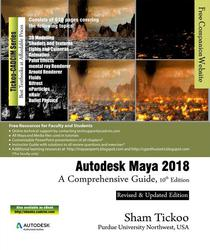Autodesk Maya 2018: A Comprehensive Guide, 10th Edition