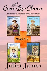 The Come-By-Chance Western Romance Series Books 5-8