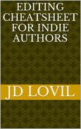 Editing Cheatsheet For Indie Authors