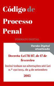 Código de Processo Penal - 2015
